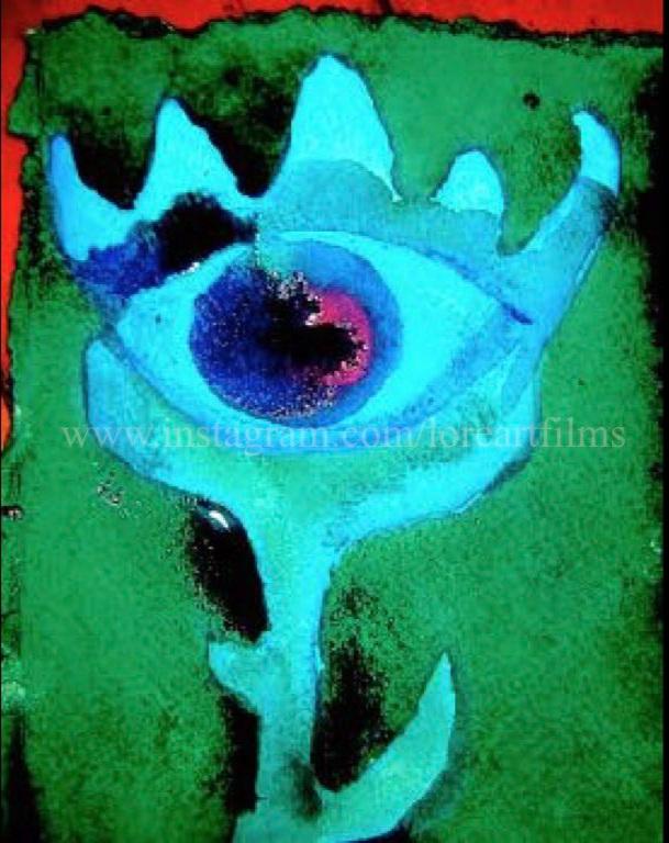 Third Eye  Watercolor on paper. Digital.  Digital $50