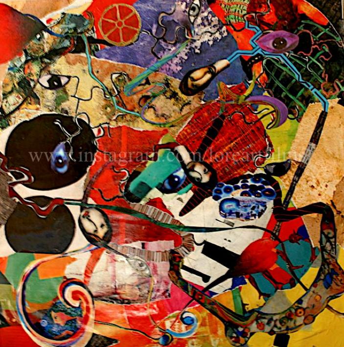 Maze  Mixed Media Collage on paper. Digital   Digital $50
