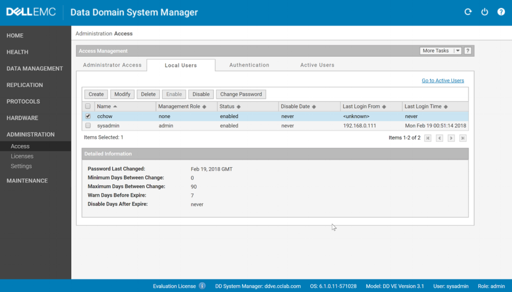 To give it Admin (optional) access, go to  Administration > Access > Modify