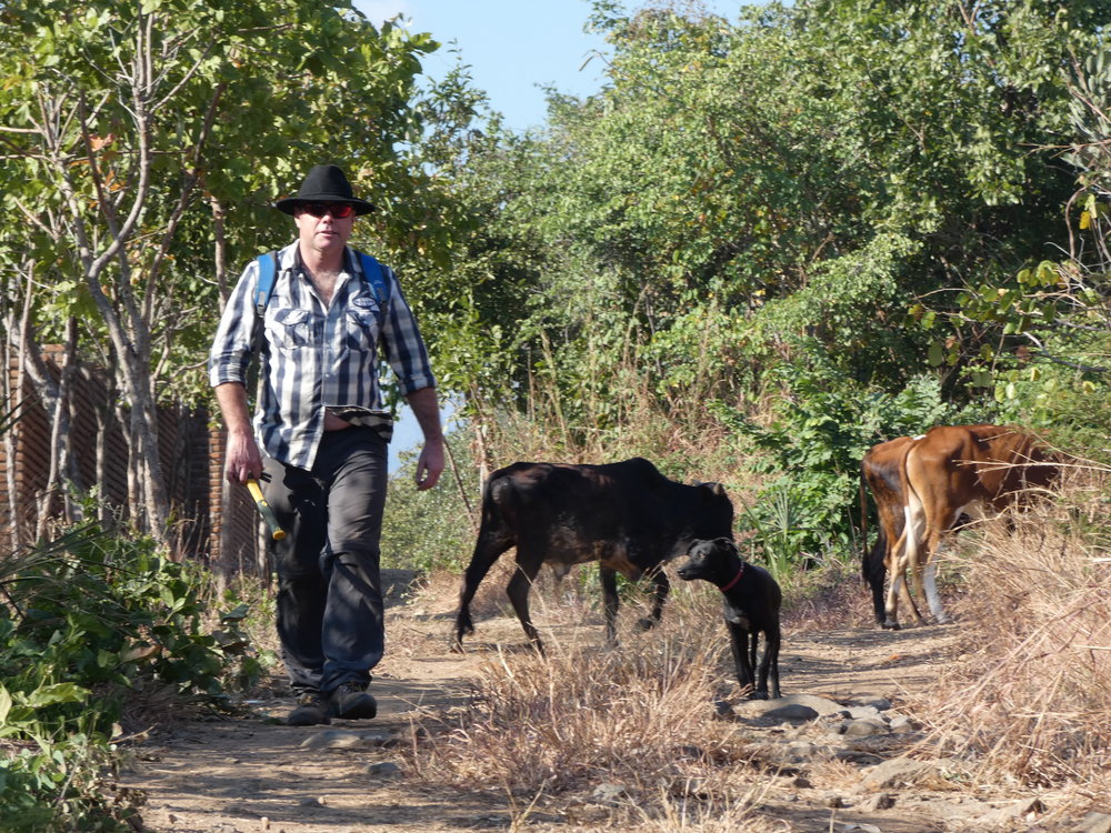 Trustee Richard Fitzgerald in Malawi