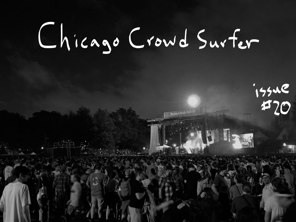 The crowd at Pitchfork during Ms. Lauryn Hill on Sunday night / photo by KPL