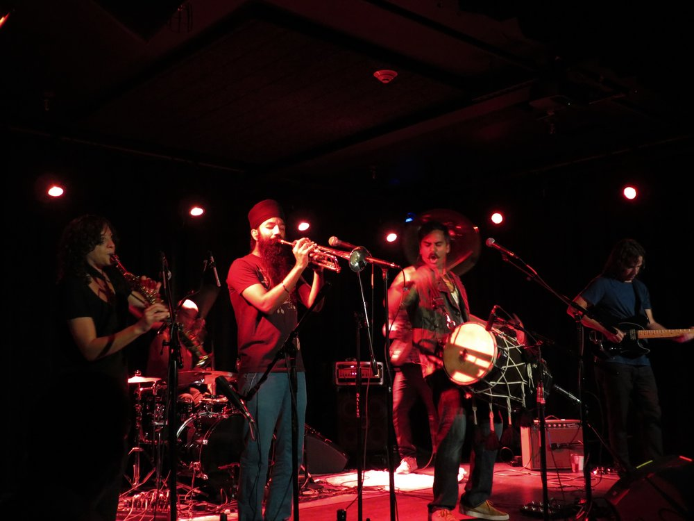 red baraat / gramps the vamp -  Sleeping VillageAugust 15th