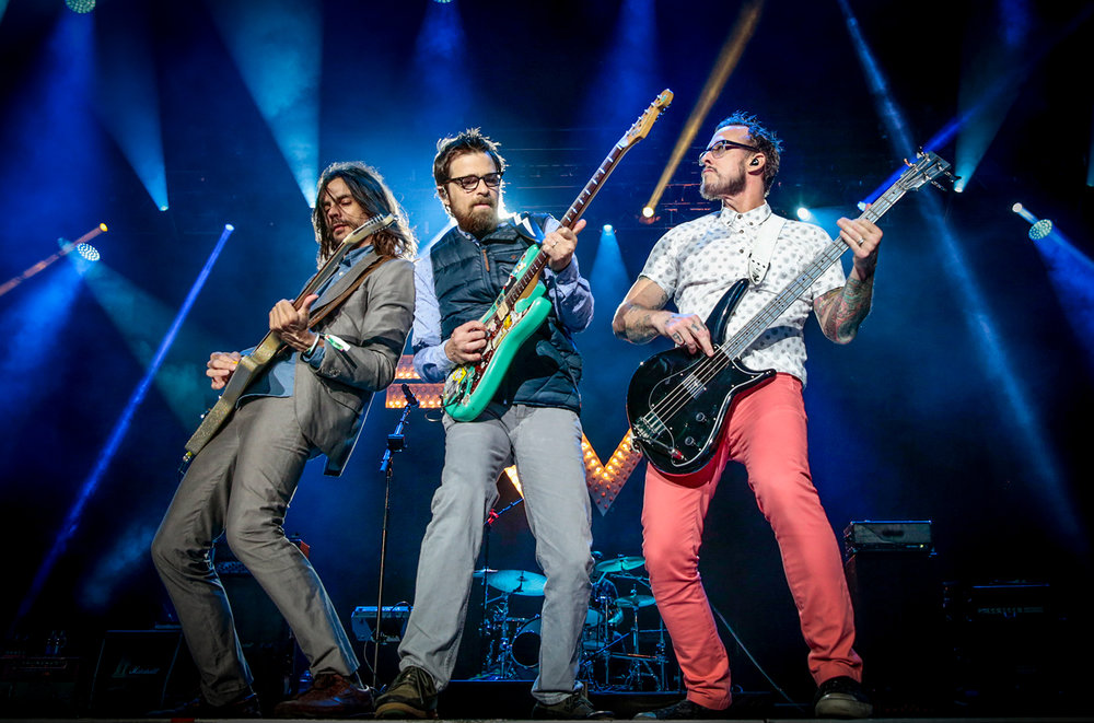 Weezer - 8:45 - 10:00 Riot StageLast time we saw Weezer, was Riot Fest 2014. They played the Blue Album in full, and it was prefaced by a pretty cool Time Machine, where they played a hit from each album leading back in time to the 1994 classic. We assume this set will be more of a survey of their extensive hook-heavy catalog, and well worth a headlining spot.