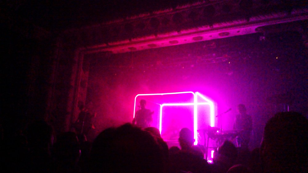 Twin Shadow at The Metro in April of 2015