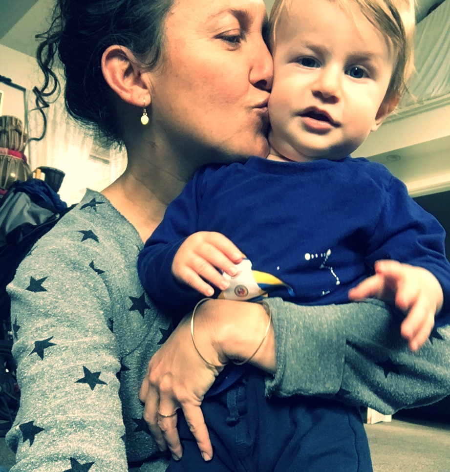 Natasha and her son, Hugo Kingston Hennessy (Jan.2018)