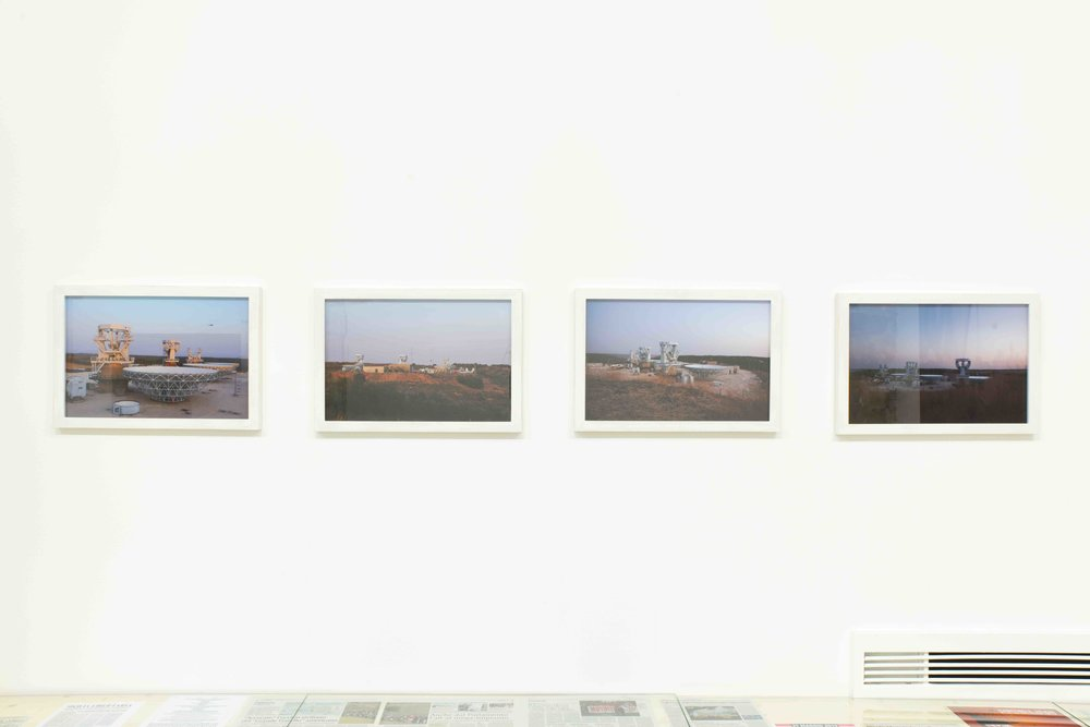 MUOS, Construction Site #1, #2, #3,   and   #4   (2013), pigment print on museum paper, 50 x 33 cm each