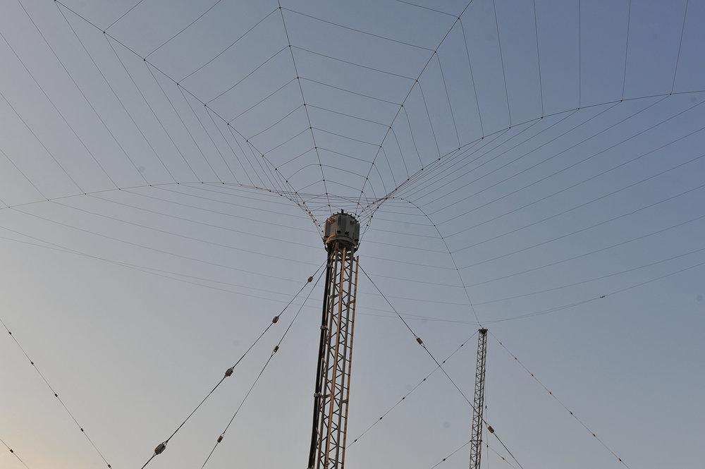 """HF (3-30 MHz) , 2013, C-Type print, 38""""x25"""""""