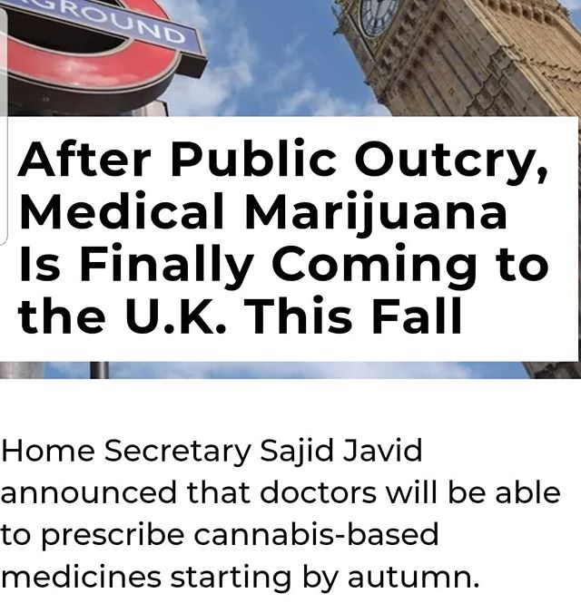 London Calling!! #420consulting #compliantcannabis