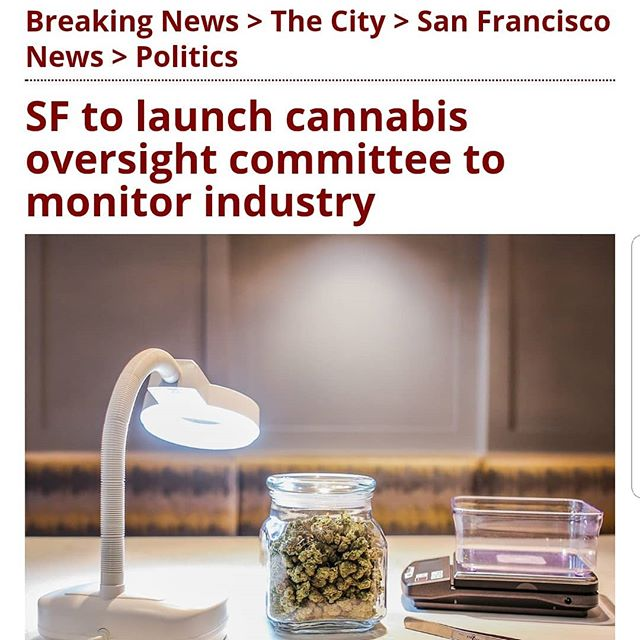 New oversight committee in SF on the way.  Im not sure the 3-person staff was really the problem - but we all know it takes time for folks to sniff out the opportunities cannabis can bring.  And now, everyone wants a voice and a piece of the pie. 😏🙄😒 #420consulting
