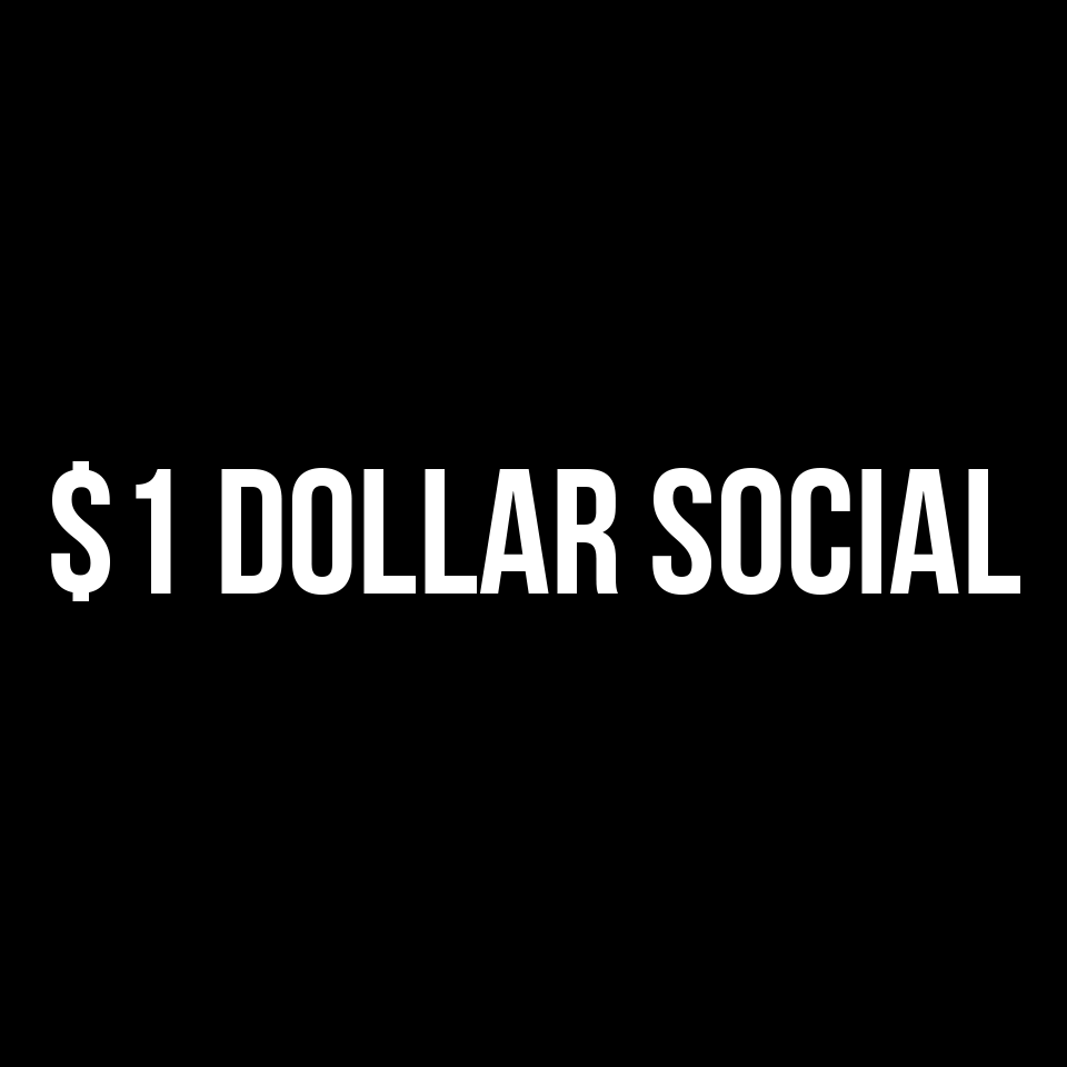 1 Dollar Social Coupons and Promo Code