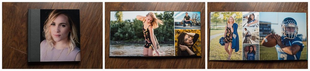 This album has an acrylic cover wrapped with genuine leather. It is a layflat album, printed on actual photo paper and matted, creating a sturdy page with the best possible color quality for your images.