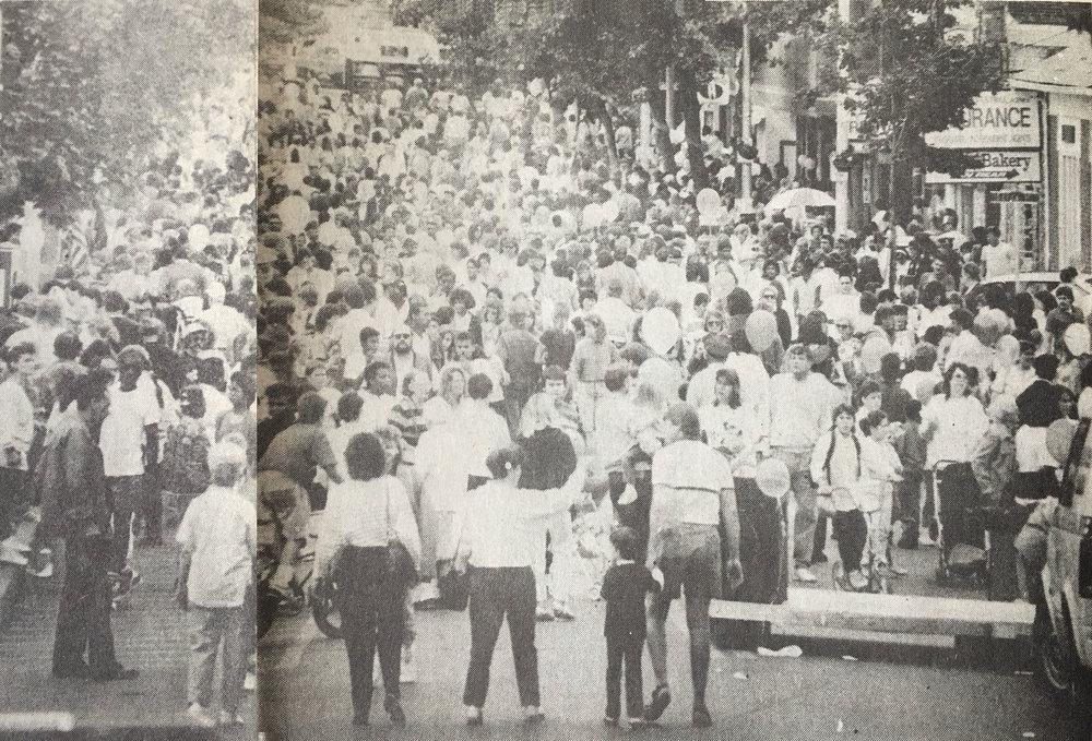 Spirit of Beacon Day 1988, courtesy Beacon Evening News