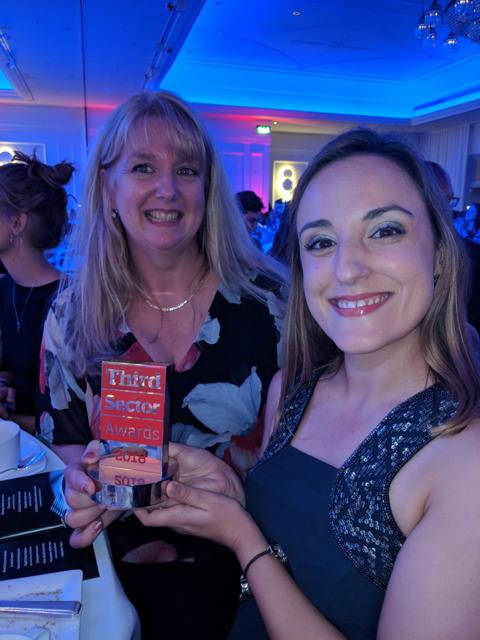 UK Brazelton Enterprise Award: Madeleine Cassidy and Susana Nicolau