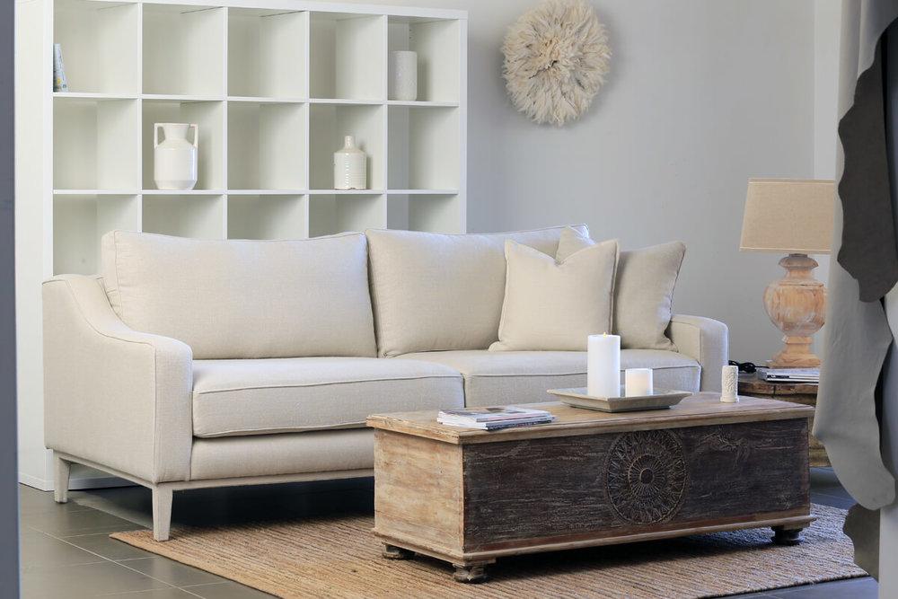 Loft sofa range  3 seater sofa 225x100x90cms