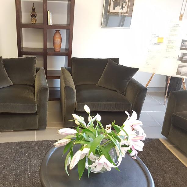 Grenoble swivel chairs 100 x 100 cm