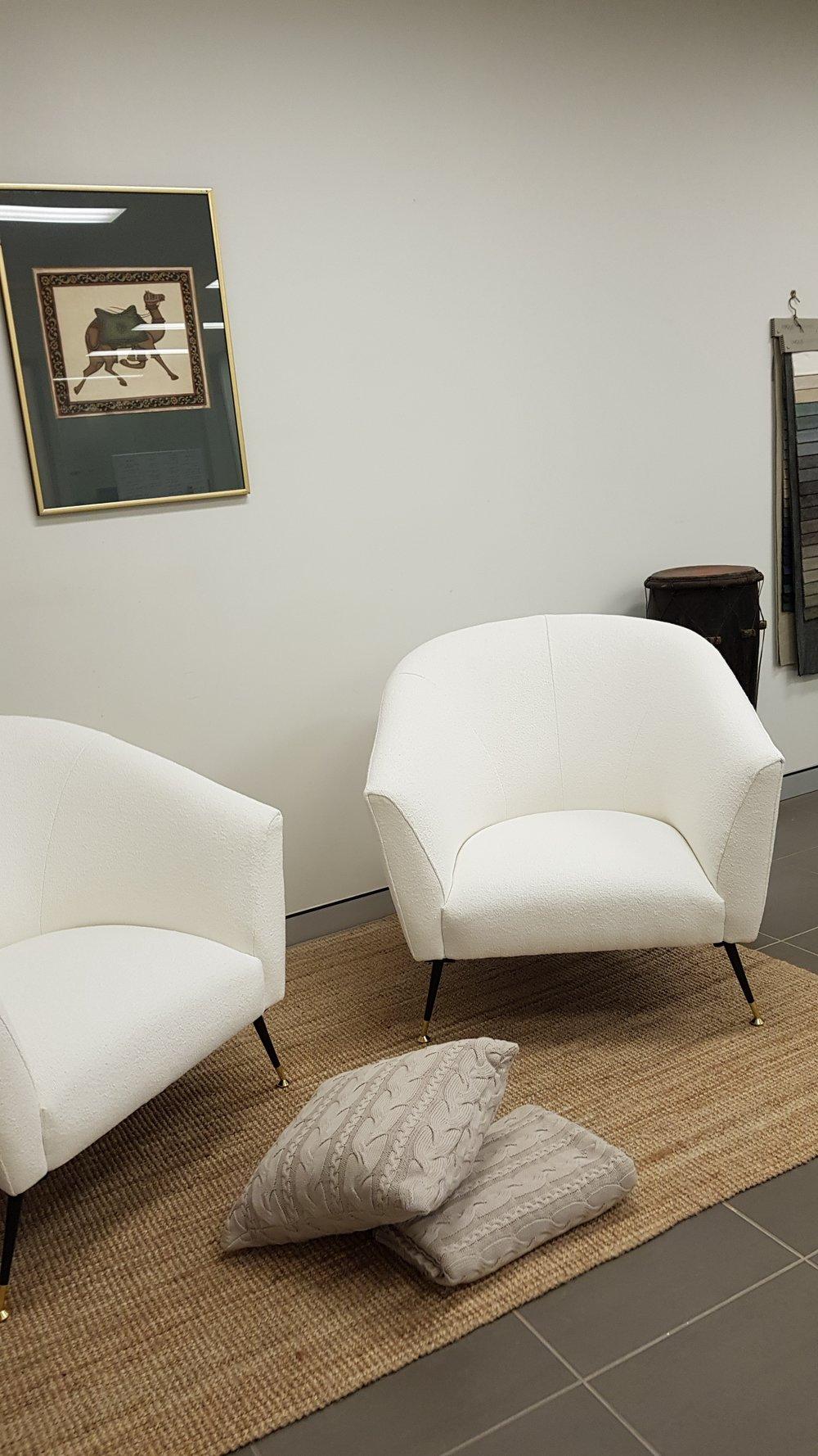 Bespoke pair of Chairs