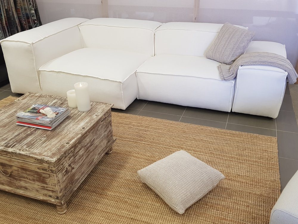 French seam Pod Sofa's