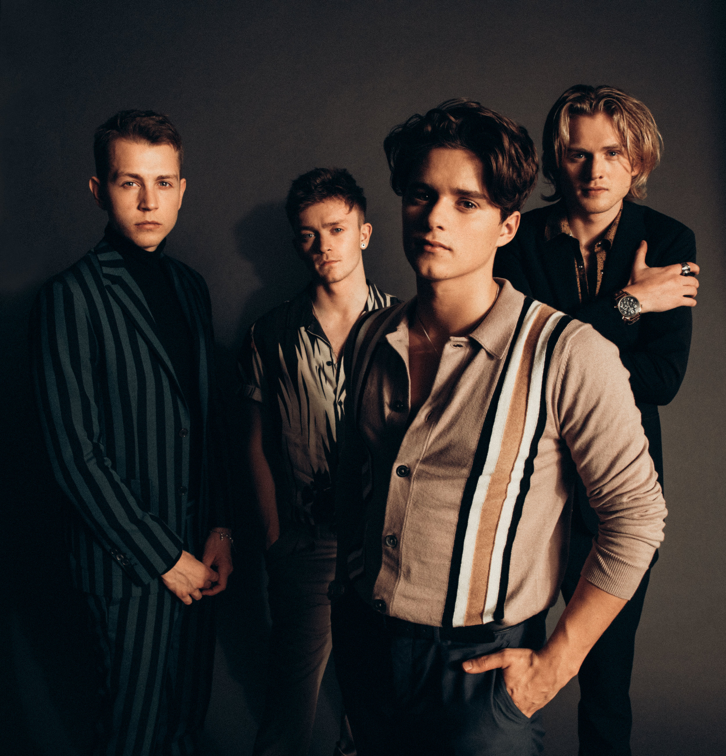 The Vamps Hrvy New Hope Club Taylor Gray August Hall