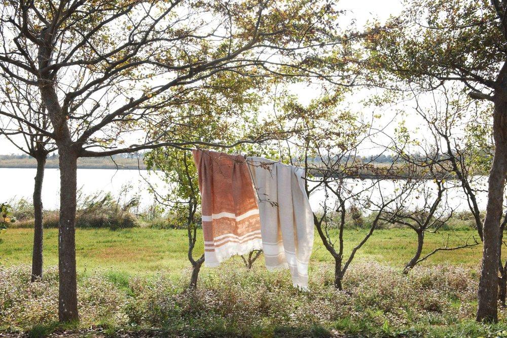 Linen Blanket -