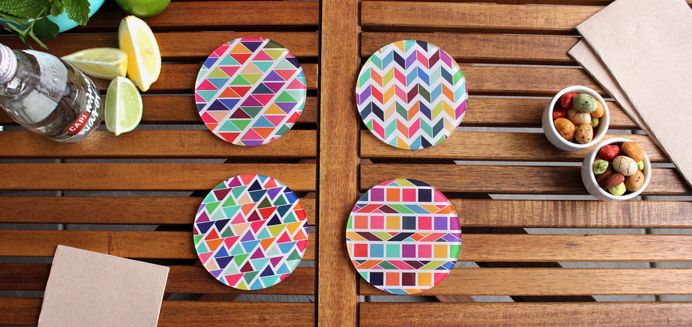 Shop Neon Pear Home - We also create colour inspired homewares!