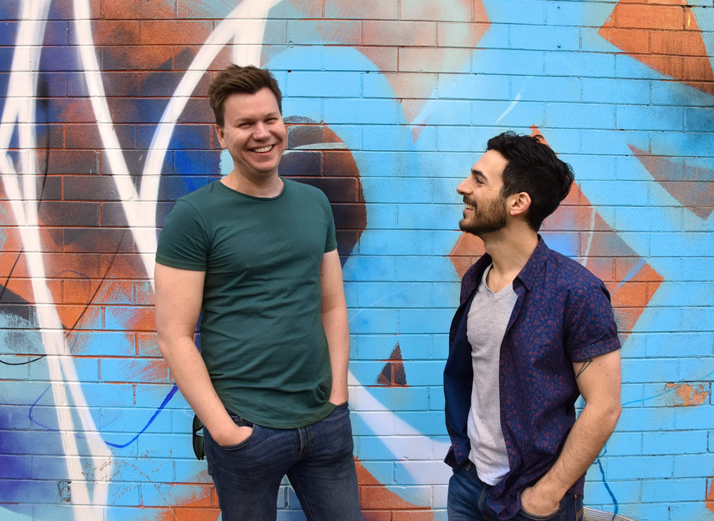 Hi, we are Marc and Marc... - The founders of Neon Pear Creative are the same creative duo behind Melbourne based homewares brand Neon Pear... read more