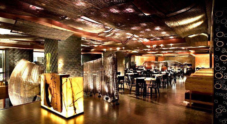 Restaurant Nobu - Controlul iluminatului