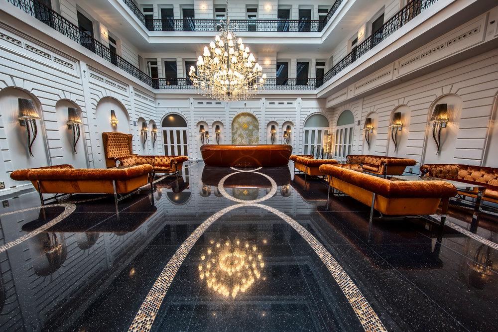 Prestige Hotel - Controlul iluminatului