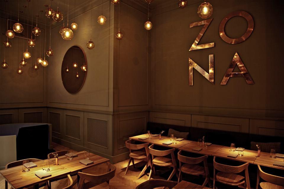Restaurant ZONA - Controlul iluminatului și reglare mecanică