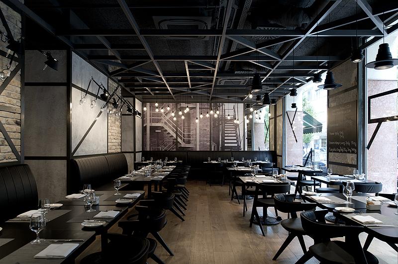 KNRDY American Steakhouse & Bar - Controlul iluminatului
