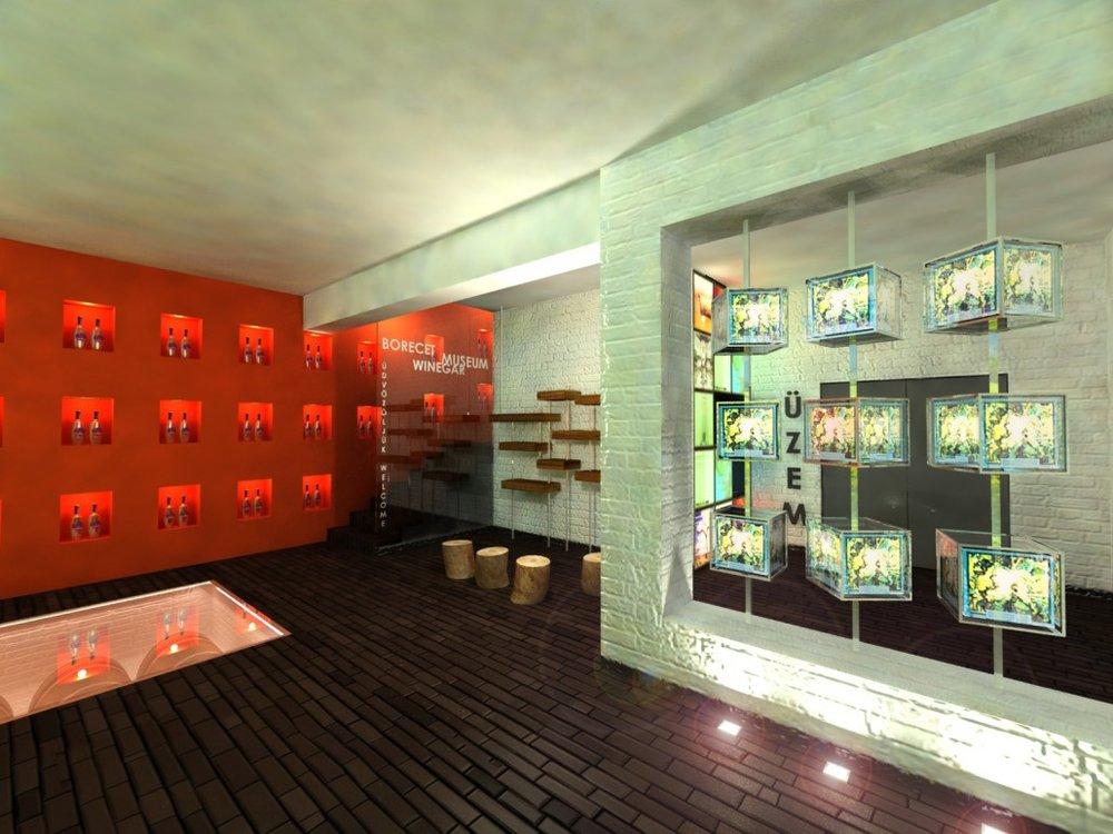 Muzeul Borecet - Controlul instalație interactive