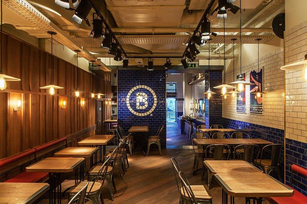 Belozzo Restaurant Oktogon - Controlul iluminatului