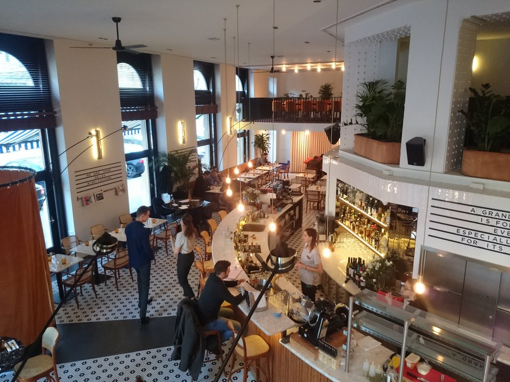 Liberté Budapest Restaurant & Grand Café - Controlul iluminatului