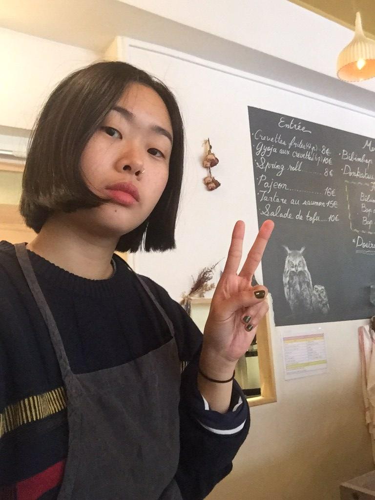 Bora K., ancienne étudiante coréenne