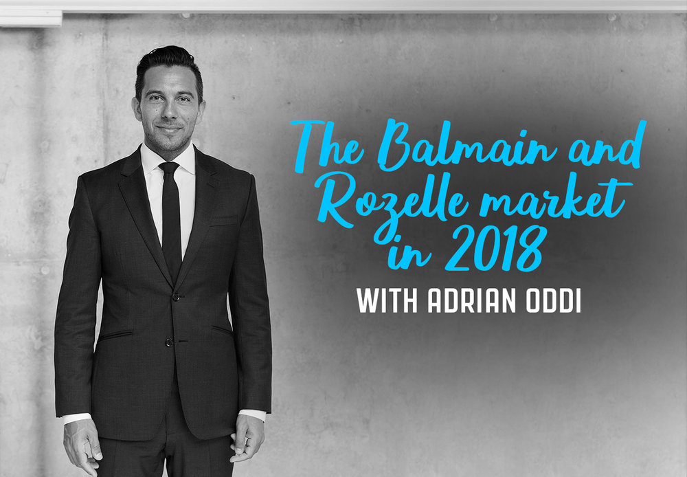 Ep.33 Balmain Rozelle Market with Adrian Oddi
