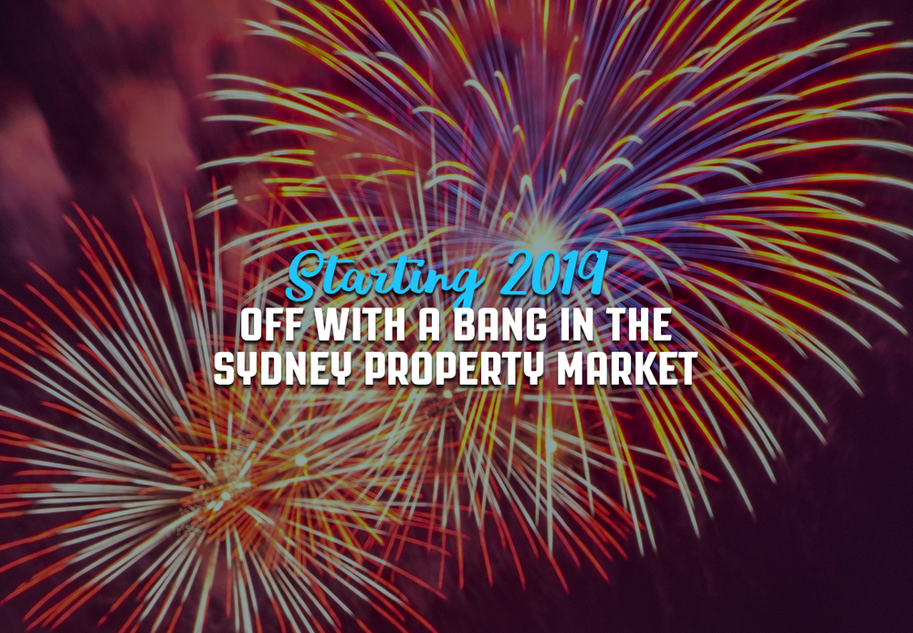 Episode 38 Starting 2019 off with a bang in the Sydney property market