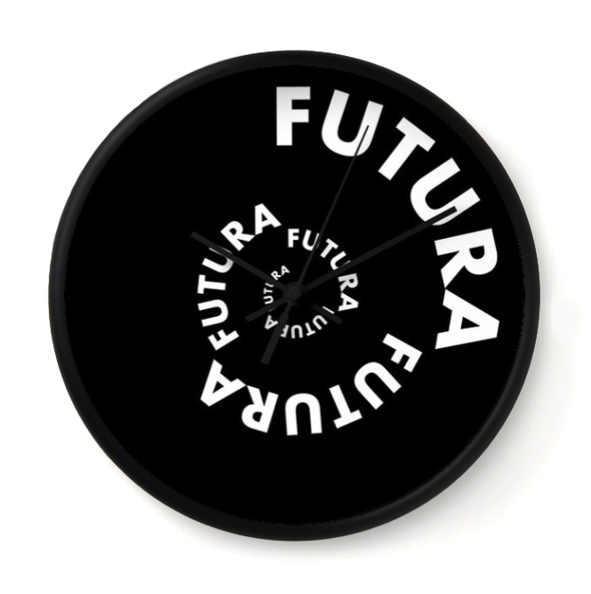 BACK TO THE FUTURA   This timepiece is part of the Timeless Type Series. It channels the spirit of Paul Renner.