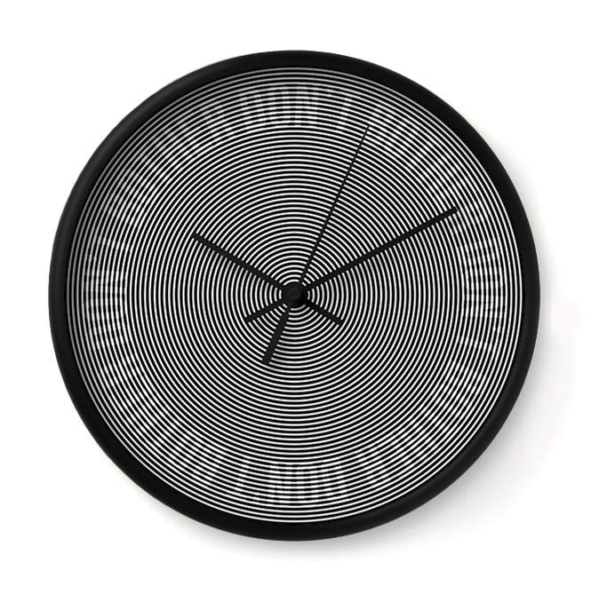 DON'T BOTHER   This clock is convinced that whatever it is you are planning to do isn't really that important.    Buy Online