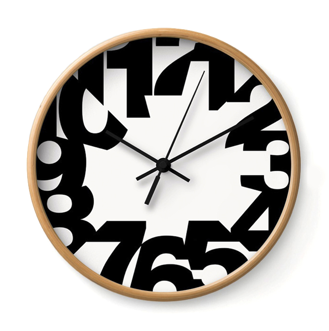 BIG TIME - WHITE   This clock's anxiety is palpable. Its fragments remind us of just how fragile Time is.     Buy Online