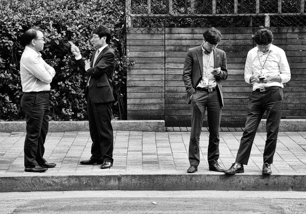 Four men smoking at curb #8 copy.jpg