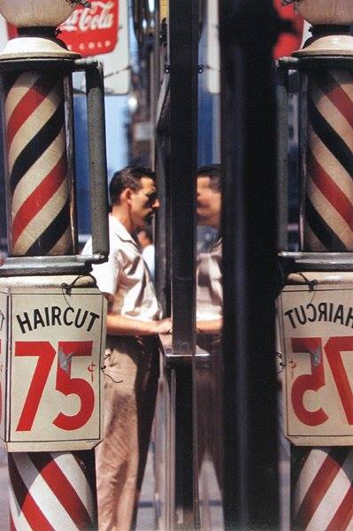 Haircut © Saul Leiter