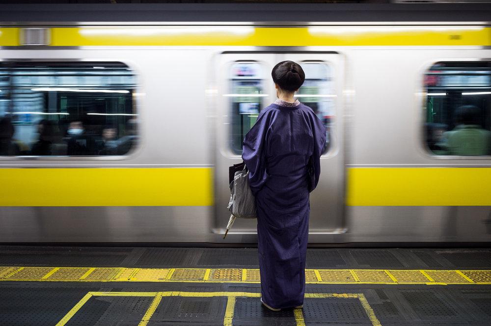 "31 - Lukasz Palka ""Yellow Line"" Tokyo, October 14th 2017"