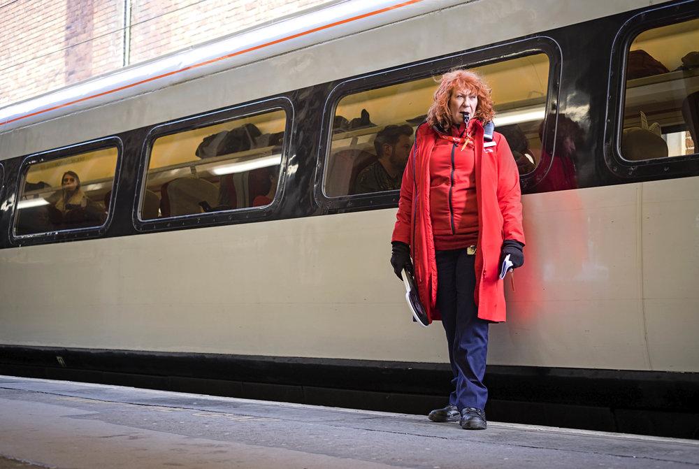 "30 - Robert Bannister ""All Aboard"" Doncaster England, 2017"