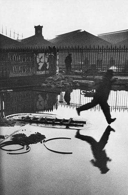 Behind the Gare Saint-Lazare, 1932. Henri Cartier-Bresson