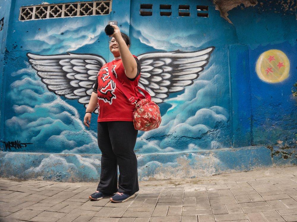 Boy Jeconiah - a teacher photographer