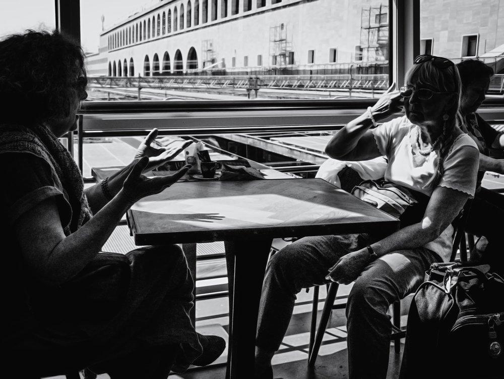 """10 - Davide Dalla Giustina """"Roma Termini"""", Roma, July 2018"""