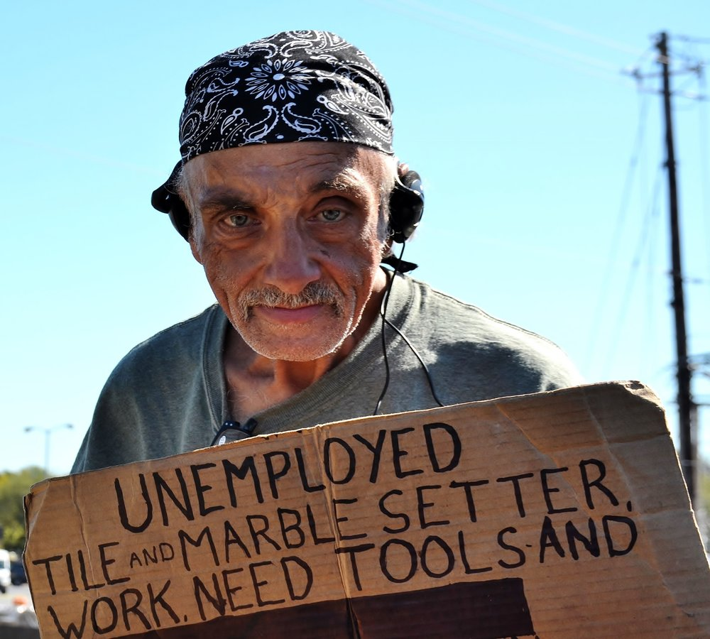 Unemployed Need Tools 10-18-2017
