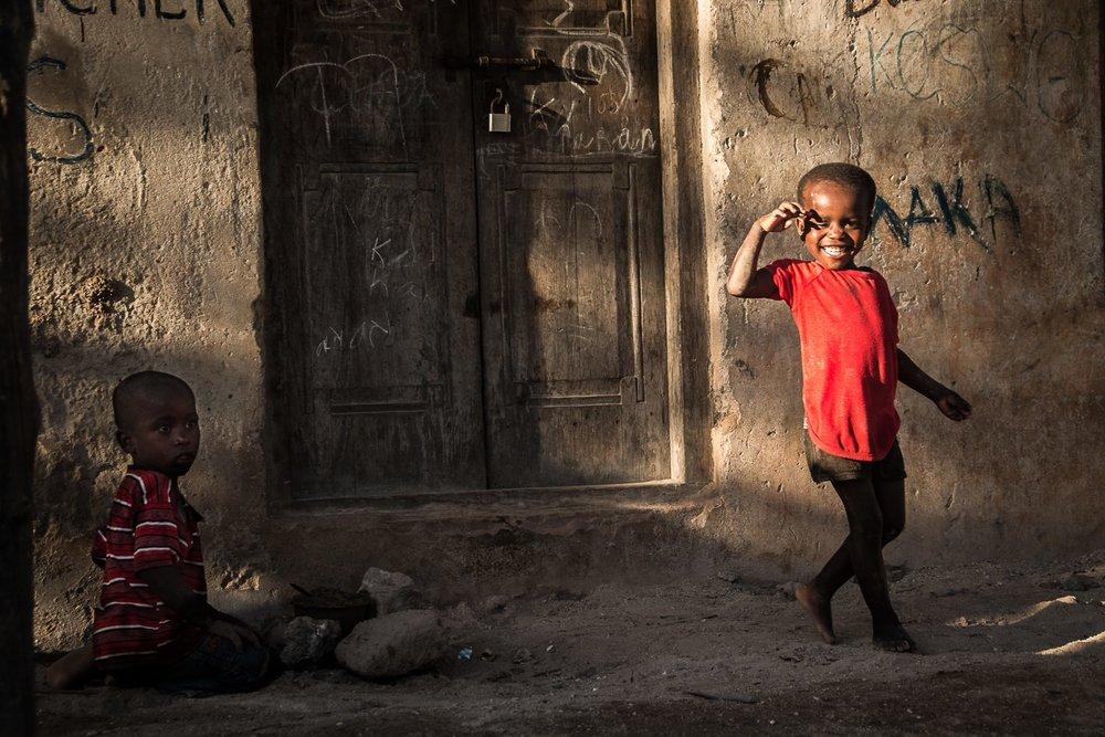 The childrenof Zanzibar - Anat Shushan