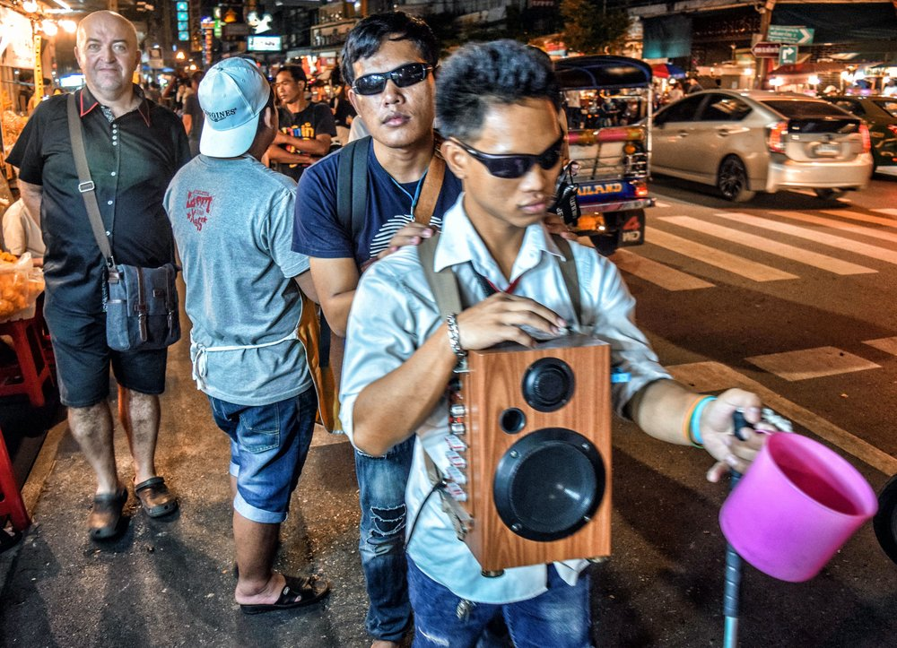 The Streets of Bangkok - by Michael Kennedy