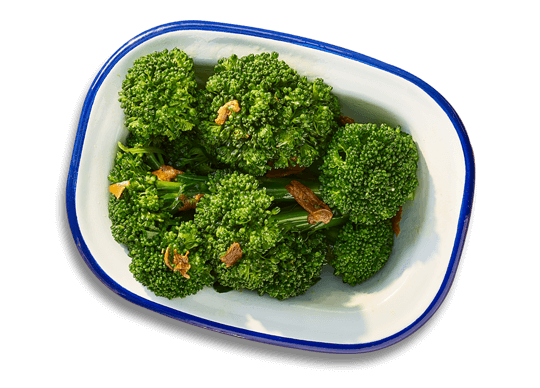 Broccoli and caramelised garlic - EatBoxed
