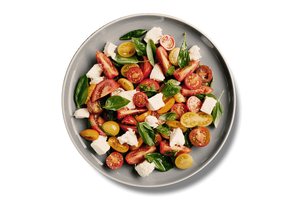 Tomato and basil salad - EatBoxed